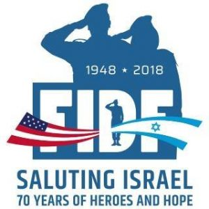 Friends of the Israel Defense Forces (FIDF) logo